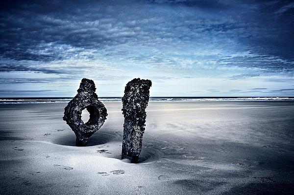 On A Coast Print by Svetlana Sewell