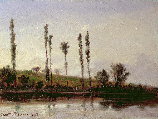 On The Outskirts Of Paris Print by Camille Pissarro