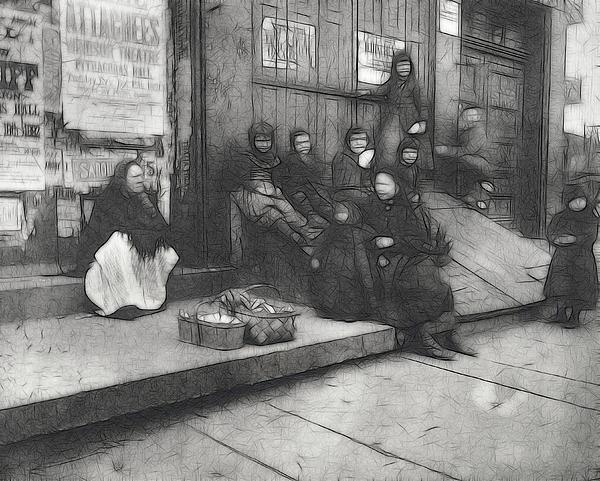 On The Street Print by Stefan Kuhn