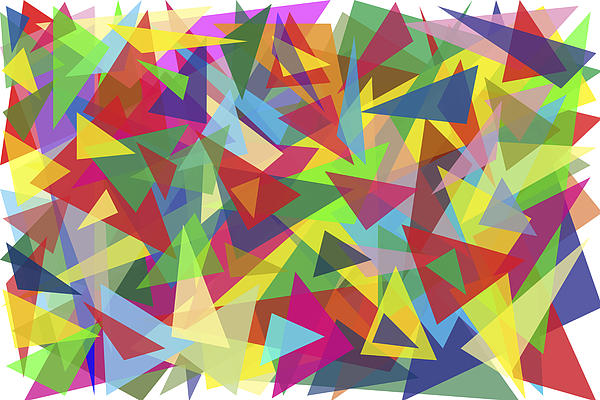 Aleksandr Volkov - One Hundred Multi-colored Triangles