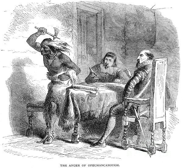 Opechancanough Print by Granger