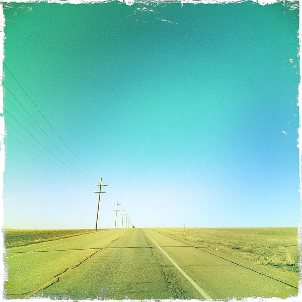 Open Road Print by A L Christensen