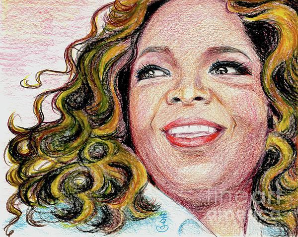 Oprah Winfrey Print by Yoshiko Mishina