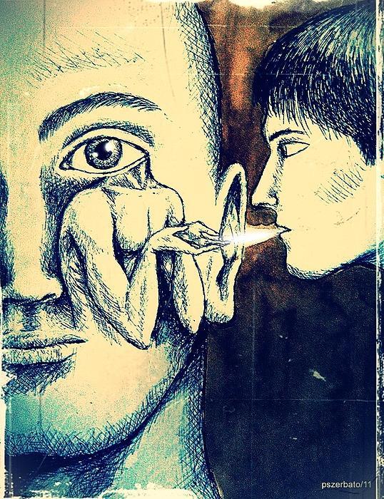 Oral Teachings Print by Paulo Zerbato