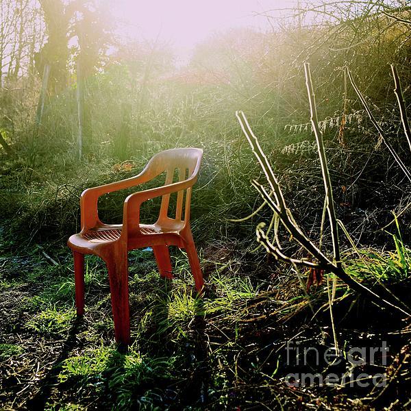 Orange Chair Print by Bernard Jaubert