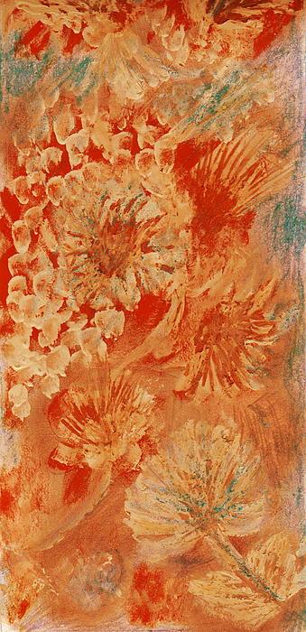 Orange Fantasia II Print by Anne-Elizabeth Whiteway