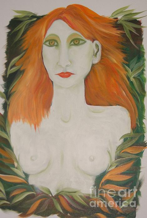 Rachel Carmichael - Orange Hair