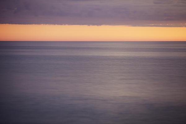 Orange Sky Print by Skip Nall
