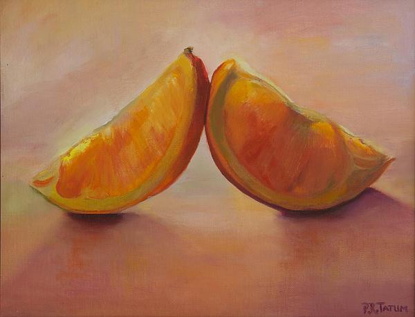 Pamela Ramey Tatum - Orange Slices in the Light