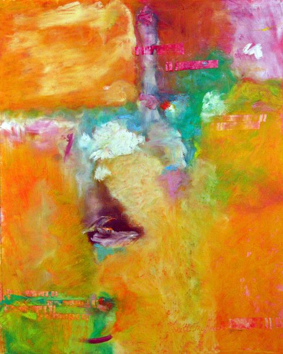 Orange Tee Print by Faith Frykman