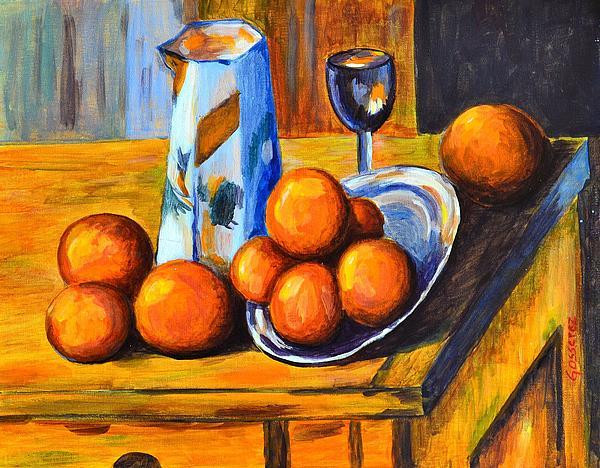 Cristina Gosserez - Oranges