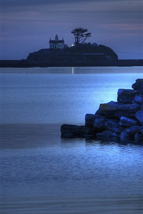 Oregon Lighthouse Photograph  - Oregon Lighthouse Fine Art Print