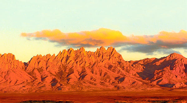 Jack Pumphrey - Organ Mountain Sunset