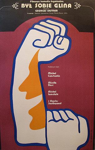 Wiktor Gorka - Original Film Poster - Il Etait une Fois un Flic - Polish Version Byt Sobie Glina - 1971