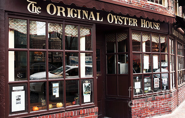 Original Oyster House Print by John Rizzuto