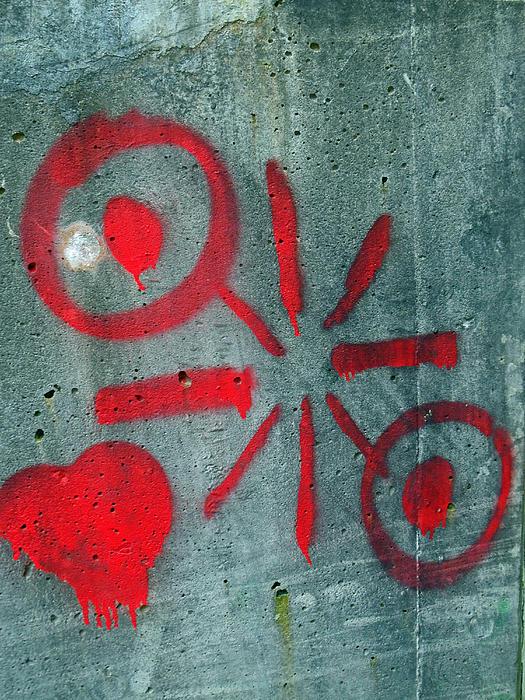 Orono Grafitti 22 Print by Cyryn Fyrcyd