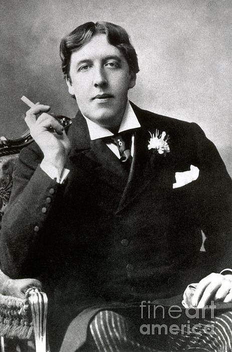 Oscar Wilde, Irish Author Print by Photo Researchers