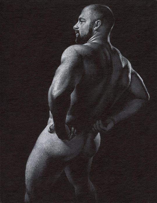 Oscuro 4 Print by Chris  Lopez