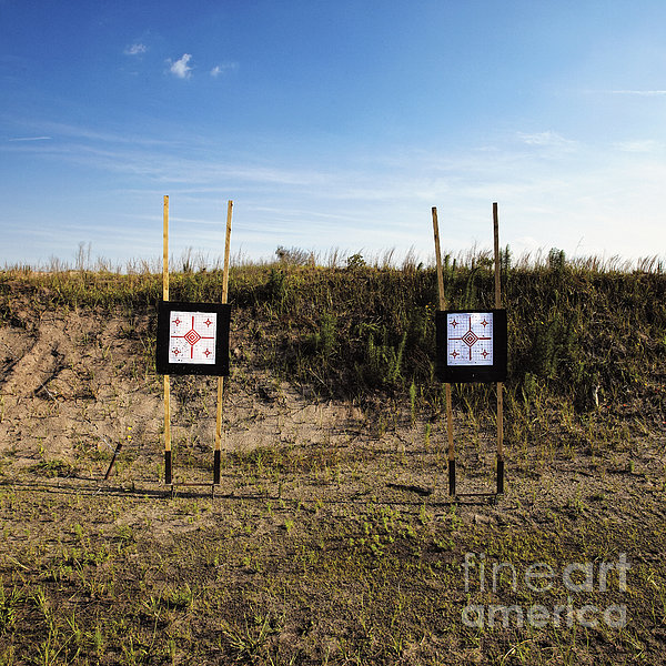 Outdoor Targets Print by Skip Nall
