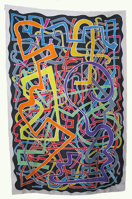 Over And Under Print by Rollin Kocsis