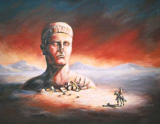 Ozymandias By Charles Griffith