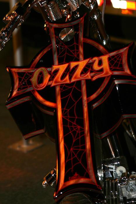 Ozzy Bike Print by Robert  Torkomian