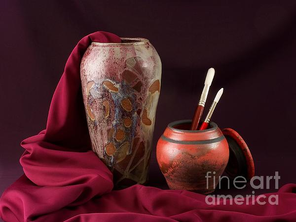 Vilas Malankar - Painterly Pots