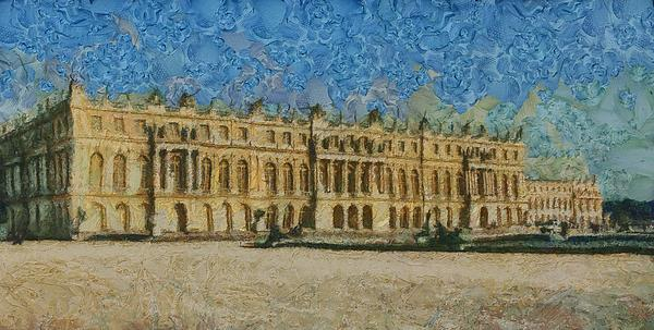 Palace Of Versailles Print by Aaron Stokes