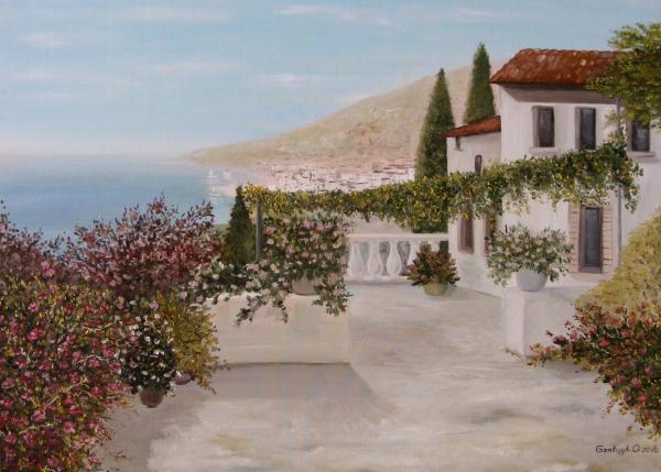 Palermo Painting  - Palermo Fine Art Print