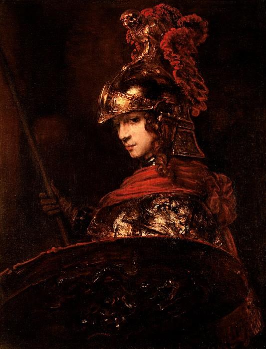 Pallas Athena  Print by Rembrandt