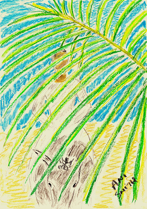 Palm Sunday Print by Ani Todd Smith