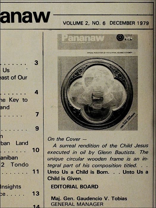 Pananaw 1979 Print by Glenn Bautista