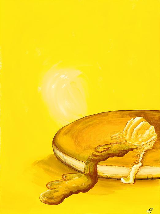 Pancake Print by David Junod