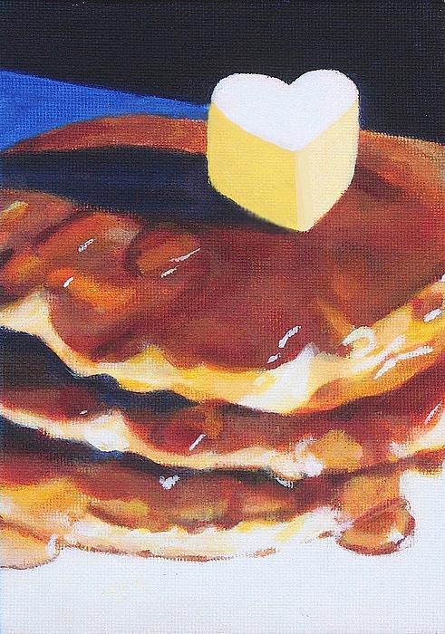 Pancakes Print by Sarah Vandenbusch