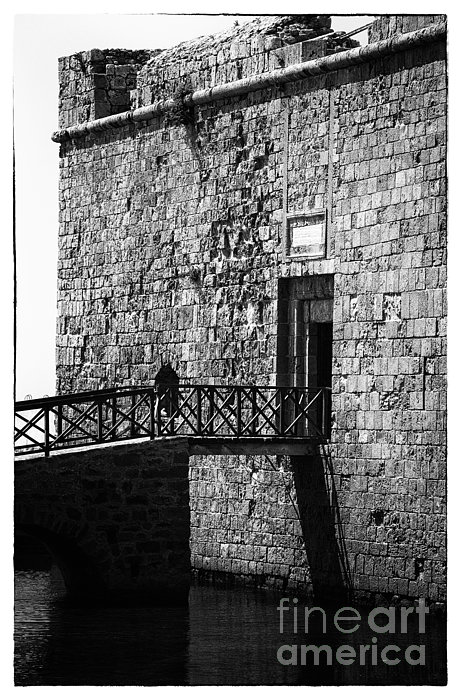 Paphos Castle Print by John Rizzuto