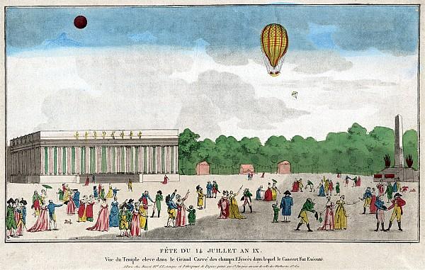 Paris: Bastille Day, C1801 Print by Granger