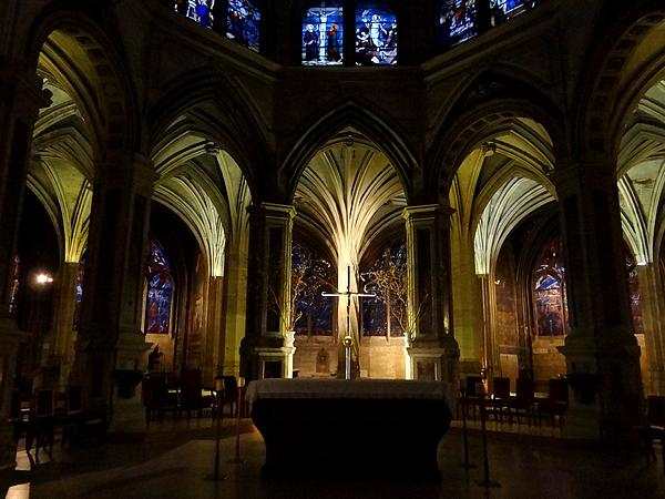 Paris church of Saint-Severin Photograph