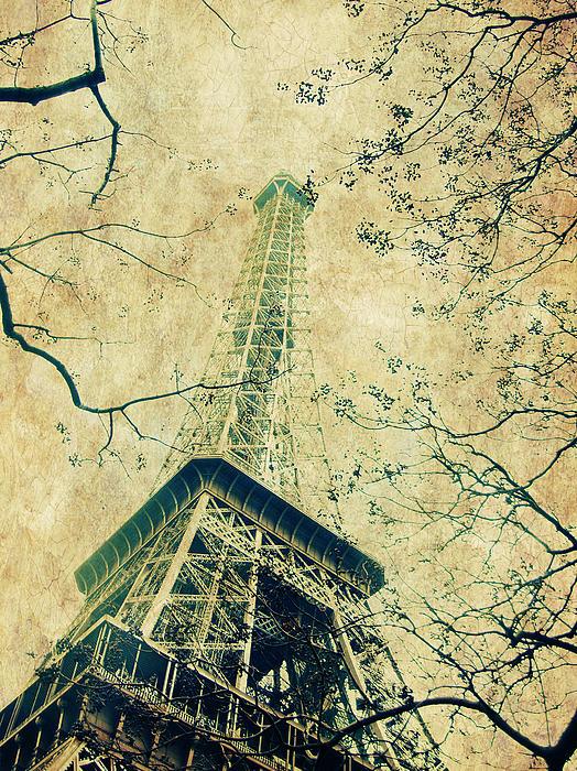 Paris Eiffel Print by Antonietta Pics