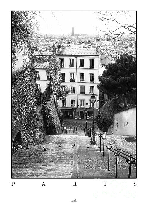 ARTSHOT  - Photographic Art - Paris - Montmartre