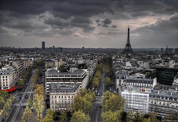 Paris No. 1 Print by Ryan Wyckoff