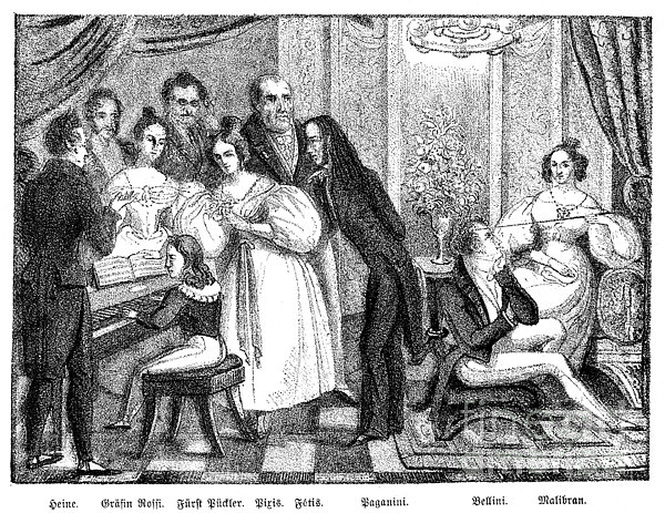 Parisian Salon Print by Granger
