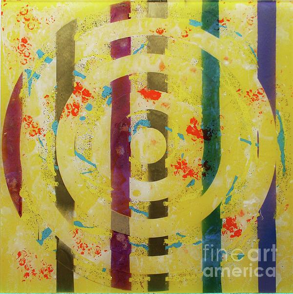 Party- Bullseye 1 Print by Mordecai Colodner