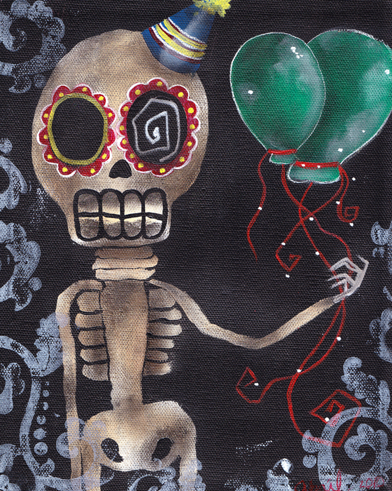 Party Killer Print by  Abril Andrade Griffith