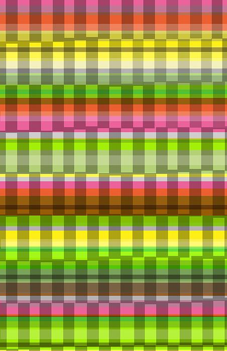 Party Stripe Print by Louisa Knight