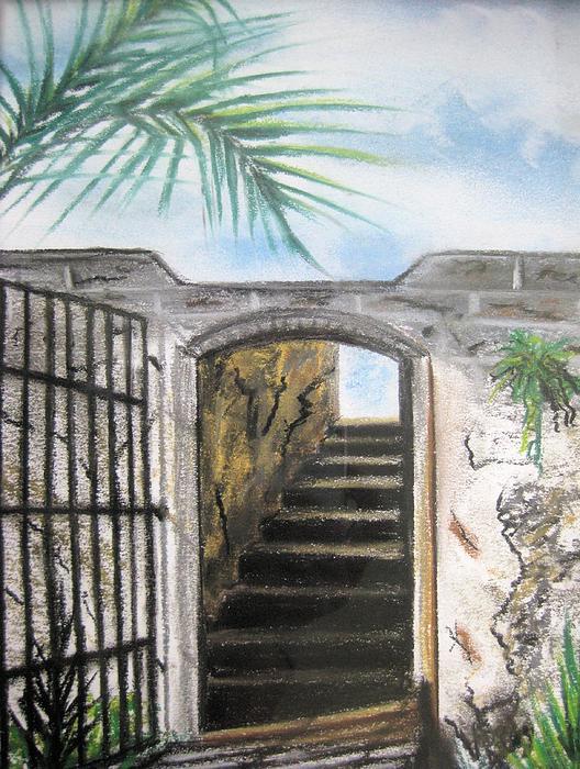 Passage Print by Judy Via-Wolff