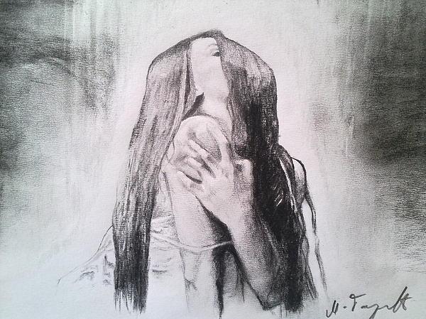 Passion Print by Milan Garcevic
