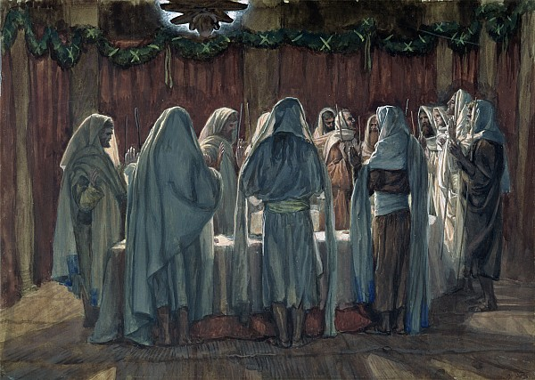 Passover Print by Tissot