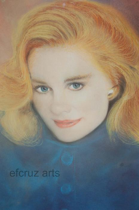 Efcruz Arts - Pastel Chalk Portrait Drawing