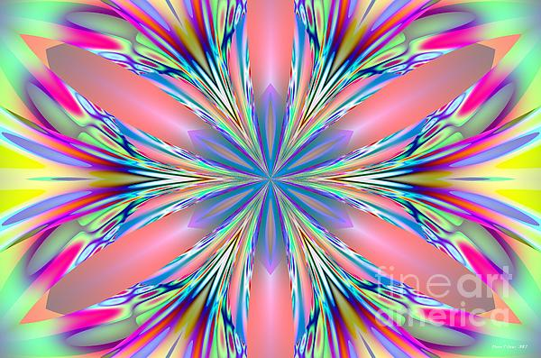 Maria Urso  - Pastel Pink Kaleidoscope
