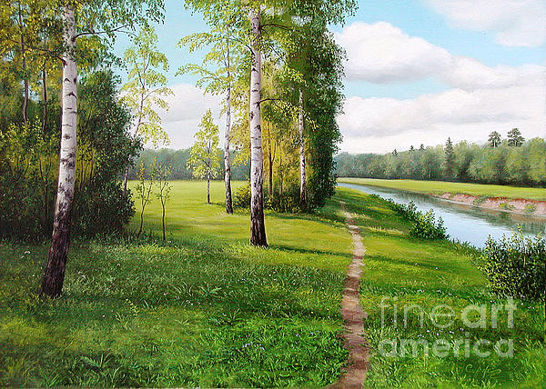 Sergey Sergpinsky - Path along a river